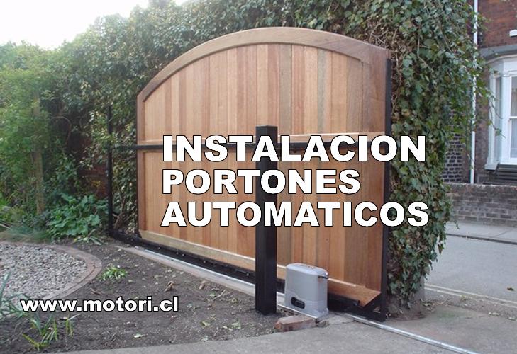 Instalacion de portones automaticos Portones automaticos