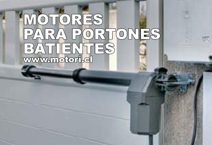 Motores para portones batientes for Motor porton electrico
